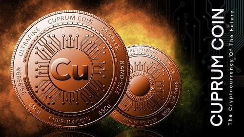 Cuprum Coin: 'The cryptocurrency of the future' worth $60 Billion soon to be launched