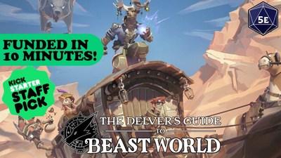 The Delver's Guide to Beast World Kickstarter Banner