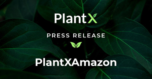 PlantX To Launch Products on Amazon Marketplace (CNW Group/PlantX Life Inc.)