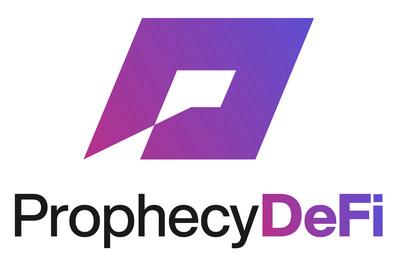 Prophecy DeFi Inc. Logo (CNW Group/Prophecy DeFi Inc.)