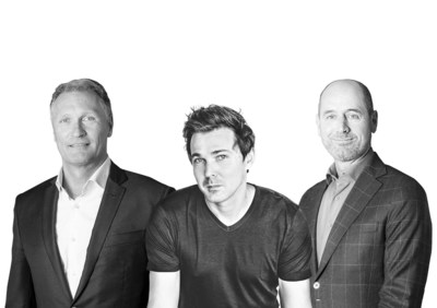 Daan De Wever, CEO Destiny, Kenneth Andreasen & Peter Reich, founders ipvision