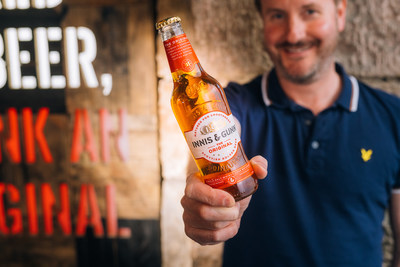 Founder and Master Brewer Dougal Gunn Sharp toasts a new look for Innis & Gunn's The Originals.