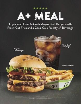 A+ Meal BurgerFi