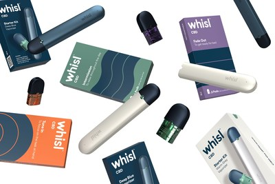 Introducing whisl, an Innovative CBD Vape Designed to Manage Your Mood Throughout the Day. (CNW Group/Canopy Growth Corporation)