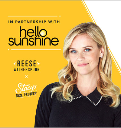 TIME TO RISE™: STACY'S® PITA CHIPS PARTNERS WITH HELLO SUNSHINE TO AMPLIFY FEMALE FOUNDERS