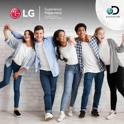 LG AND DISCOVERY EDUCATION TO LAUNCH 'HAPPINESS IN ACTION' VIRTUAL FIELD TRIP