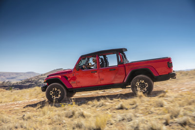 Jeep® Performance Parts (JPP) from Mopar is introducing new half doors for the 2021 Jeep® Gladiator, offering an enhanced open-air experience for the most off-road capable Jeep truck ever. The new Jeep Gladiator Dual-Door Group includes both full and half doors and is available on all Jeep Gladiator models through the Mopar Custom Shop as part of an original new-vehicle purchase in the U.S.