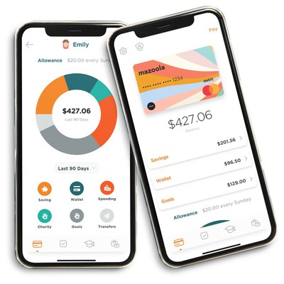 Mazoola easily and safely tracks how much money kids and teens have earned to help them learn to save for what matters most.
