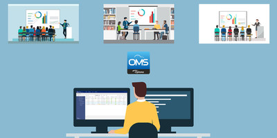 Optoma Management Suite (OMS) offers real-time monitoring for audio visual devices via a single platform