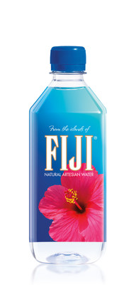 FIJI Water's Eye-Popping New Packaging to Walk the Runway at its First Major Red Carpet Event, the 73rd Primetime Emmy® Red Carpet and Awards Ceremony