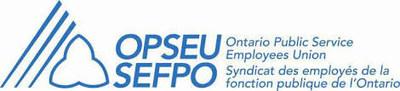 Ontario Public Service Employees Union Syndicat des employés de la fonction publique de l'Ontario (CNW Group/Ontario Public Service Employees Union (OPSEU/SEFPO))