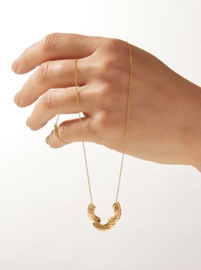 Panera Macaroni Necklace