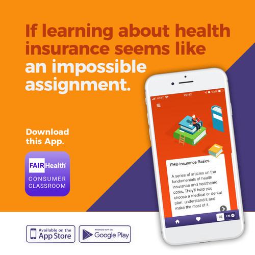 FAIR Health Consumer Classroom