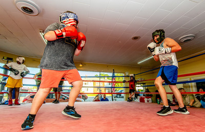 The Paris Downtown Boxing Gym teaches youth to box free of charge, providing an outlet for their energy and stress and teaching many youth development skills. The Kentucky Fried Wishes grant will be used to rejuvenate the boxing gym and replenish worn-down gym equipment.