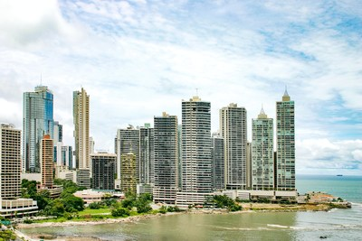Downtown Panama City, home to many global corporate offices (CNW Group/North American Travellers Association)