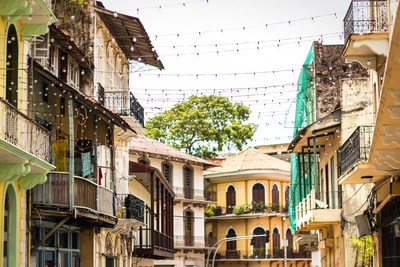 Casco Viejo, a Panama City neighborhood recently made famous by Instagrammers and content creators (CNW Group/North American Travellers Association)
