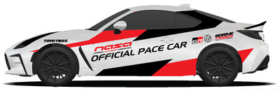 2022 Toyota GR 86: The official pace car for the National Auto Sport Association Championship Races in Daytona.