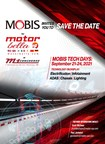Hyundai Mobis to hold Tech Days at Motor Bella to demonstrate latest technology for autonomous and electric vehicle