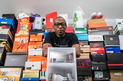 With the help of Jacques Slade, eBay users can list a pair of sneakers for $100 or more, with zero seller fees, for a chance to win one of 25 pairs of coveted, authentic grails. eBay has teamed up with the ubiquitous sneakerhead and longtime eBay seller to share his tips and tricks for listing, selling and connecting with the sneaker community on eBay.