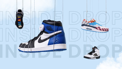 """eBay's """"Inside Drop"""" gives sneakerheads a rare opportunity to get their hands on some of the world's most incredible sneakers curated from eBay's unrivaled inventory."""