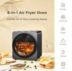 EPEIOS 14升6合一空气油炸烤箱使烹饪变得轻松