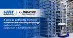 HAI ROBOTICS s'associe à Savoye pour stimuler l'entreposage intelligent