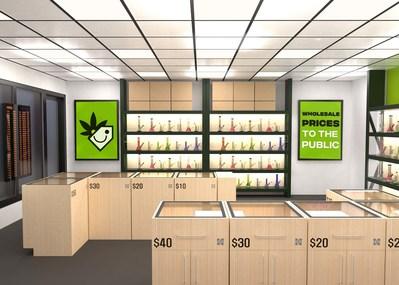 High Tide Reveals Design Concept for Cannabis Chop Club Retail Value Brand (CNW Group/High Tide Inc.)