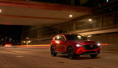 2022 Mazda CX-5 GT Sport Appearance Package (Groupe CNW/Mazda Canada Inc.)