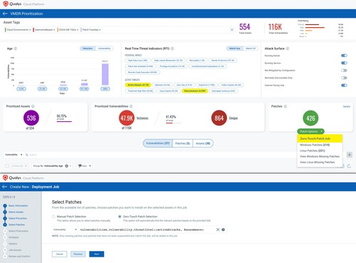 Qualys Patch Management with Zero-Touch Automation