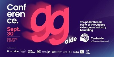 Introducing GGaide: The Quebec Video Game Industry's New Fundraising Conference Benefiting Centraide of Greater Montreal(CNW Group/Techaide)