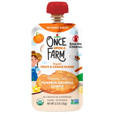 For every Farmer Jen blend purchased, $0.25 is donated to Save the Children to help provide nutritious meals to kids in need.