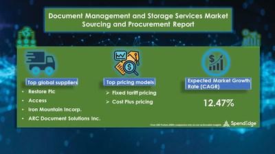 Document Management and Storage Services Market Procurement Research Report