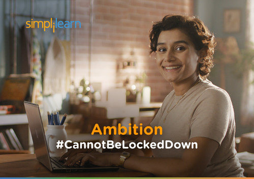 Simplilearn Brand Campaign Ambition #Cannotbelockeddown