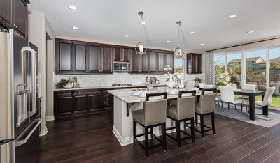 The Dominic is one of two new Richmond American models making their debut at Stone Bluff at White Rock Springs Ranch in Folsom, California.