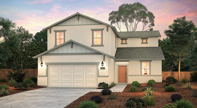 Indigo floor plan at Olivewood   New homes in Fresno, CA by Century Communities