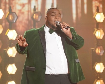 """ABC/Eric McCandless* Georgia 4-H Alumnus Willie Spence covering Sam Cooke's """"A Change is Gonna Come"""" during last season's """"American Idol"""" finale on ABC."""