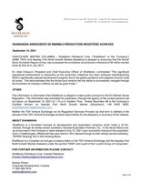 (CNW Group/ShaMaran Petroleum Corp.)