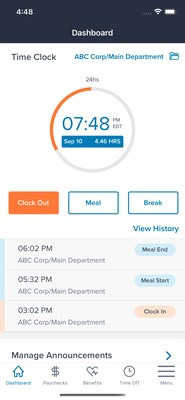 TriNet Mobile app