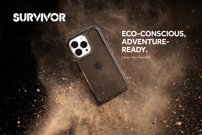 Survivor cases for the iPhone 13 range are both eco-friendly and ultra-protective against drops, dings, dust, and more, so consumers can tackle their everyday activities and adventures without the fear of damaging their device along the way.