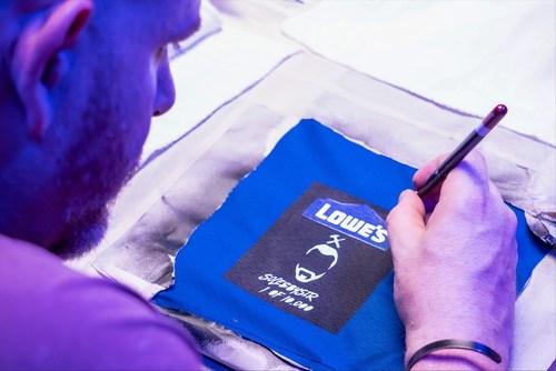 Lowe's Home Team Jersey Artist, Marcus Rivero