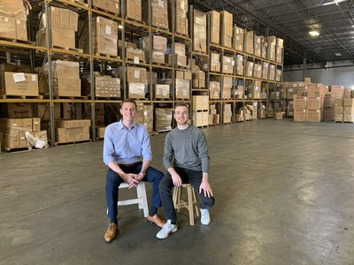 Sean Henry, Stord co-founder and CEO, and Jacob Boudreau, Stord co-founder and CTO