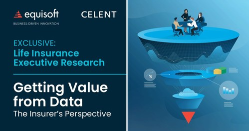 New Celent research on how insurers are getting value from their data (CNW Group/Equisoft)
