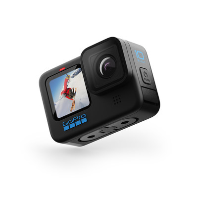 GoPro's New HERO10 Black Camera Delivers Breakthrough Image Quality and Speed with Ease. The Powerful New GP2 Processor Delivers 2X Faster Video Frame Rates and Next Generation Image Quality with Stunning 5.3K Video at 60FPS Provides 91% More Resolution Than 4K.