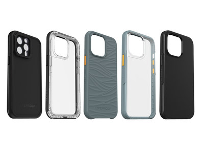 LifeProof WAKE, NËXT and SEE cases for iPhone 13, iPhone 13 mini, iPhone 13 Pro, iPhone 13 Pro Max, featuring recycled materials, are available now on lifeproof.com, and a colorful assortment of waterproof FRE and FRE with MagSafe cases will be available soon.