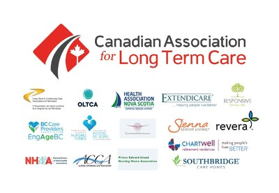 CALTC logo with member logos (Groupe CNW/Canadian Association for Long-Term Care)