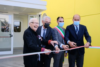 Alfasigma inaugurates the new Research & Development center in Pomezia named after its founder Marino Golinelli