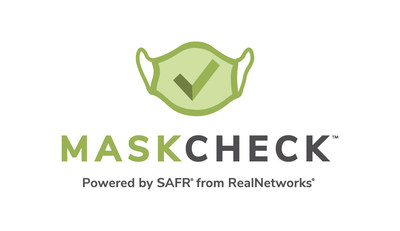 MaskCheck, powered by SAFR from RealNetworks