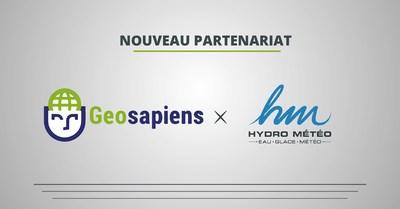 Geosapiens et Hydro Météo s'associent pour offrir une solution clé en main pour la gestion des inondations (Groupe CNW/Geosapiens)