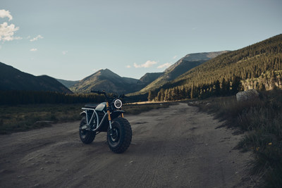 The Grunt, Volcon ePowersports' first two-wheeled, all-electric, off-road motorcycle.
