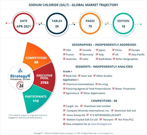 Global Sodium Chloride (Salt) Market
